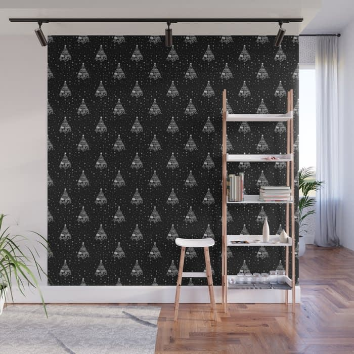 Merry Everything and Happy Always Wall Mural